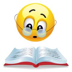 bookish-emoticon
